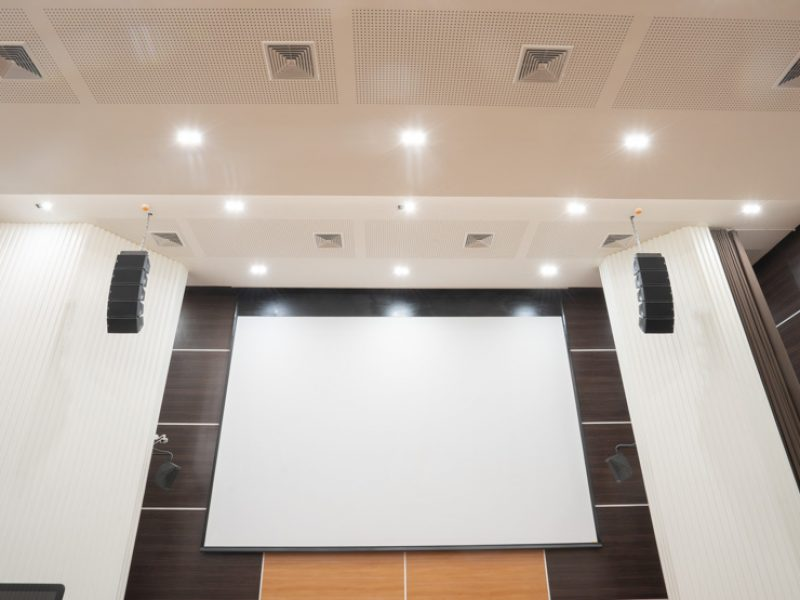 Theaters-sound-system-installation